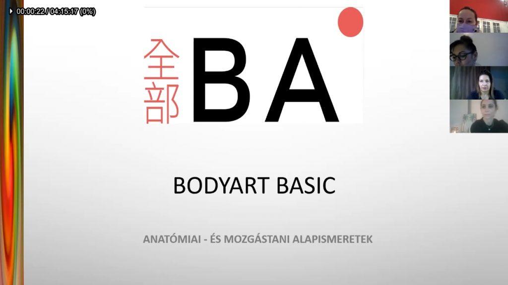 Alap anatómiai és élettani ismeretek, és alkalmazásuk a BODYART rendszerében